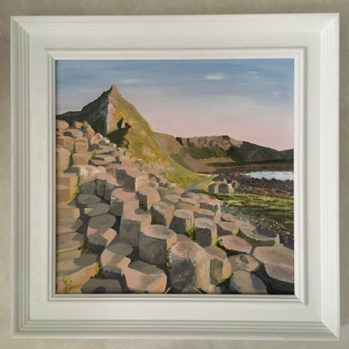 in klöver | ni design - Bernadette Beckett - 'The Giant's Causeway' Original Acrylic on Canvas